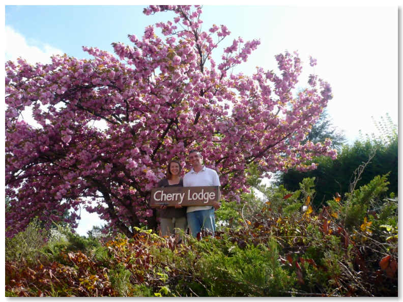 Les proprietaires des appartements de vacances Cherry Lodge