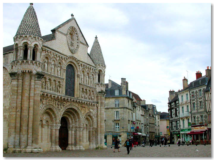 Cathedral - Poitiers